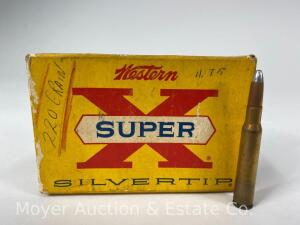 20 Rounds of Western Super-X Silvertip 30-06 Ammo, 220gr.