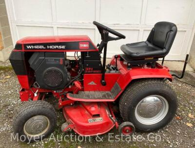"Wheel Horse 314 Garden Tractor with 42"" Mower Deck & Rear Bagger, exc. condition-160 hours, Kohler Command 14 engine & 8 speeds, starts & runs good"