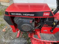 "Wheel Horse 314 Garden Tractor with 42"" Mower Deck & Rear Bagger, exc. condition-160 hours, Kohler Command 14 engine & 8 speeds, starts & runs good - 3"