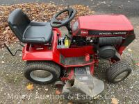 "Wheel Horse 314 Garden Tractor with 42"" Mower Deck & Rear Bagger, exc. condition-160 hours, Kohler Command 14 engine & 8 speeds, starts & runs good - 11"
