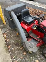 "Wheel Horse 314 Garden Tractor with 42"" Mower Deck & Rear Bagger, exc. condition-160 hours, Kohler Command 14 engine & 8 speeds, starts & runs good - 27"