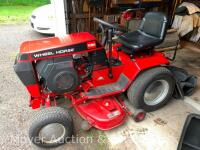 "Wheel Horse 314 Garden Tractor with 42"" Mower Deck & Rear Bagger, exc. condition-160 hours, Kohler Command 14 engine & 8 speeds, starts & runs good - 30"