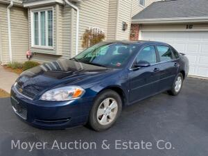 2008 Chevrolet Impala LT with 33,450miles, V6, excellent condition, 1owner, VIN# 2G1WT58N881337247, new battery, includes WeatherTech floor mats