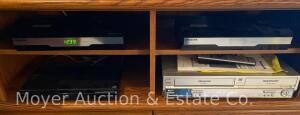 2 Samsung Home Networks, a Sony DVD player and Panasonic VCR/CD player