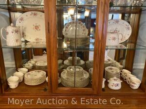"*CORRECTION* 107pc. Set of Minton's Dinner China ""Marlow"" pattern, service for 10 plus many serving pieces, all appears in excellent cond."