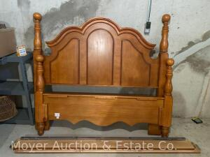 Bed Frame, queen size, exc. condition, purch. new in 2011