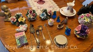 Group of Decorative Glass and China