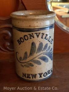 "Stoneware Jar ""Boonville New York"", ca. 1997, 6""t"