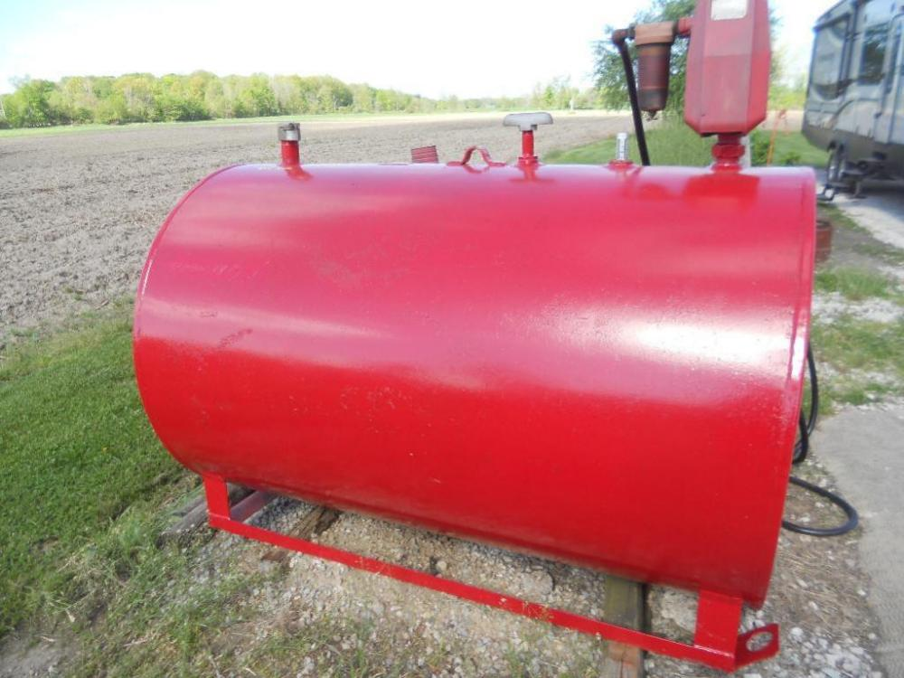 500 Gallon Fuel Tank >> 500 Gallon Fuel Tank On Skids With Gasboy Pump Hose And
