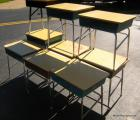 9 Heywood-Wakefield school desks