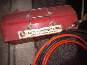 Lawson thermoplastic hose coupler tool