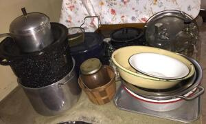 Canners, basins & canning jars