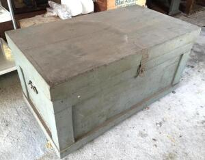 Wooden carpenters box