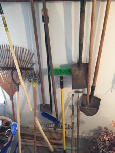 Group of lawn & garden tools