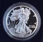1997 American Eagle proof silver 1 ounce coin