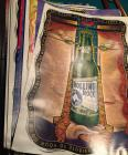 Group of 30 Rolling Rock Beer collectible posters