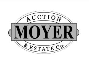 5. Pickup address will be emailed to winning bidders with their invoice.  To avoid missing emails, allow Randy@MoyerAuction.com into your inbox.  Please print your invoice & bring to pickup with payment.  Pickup is Saturday April 2 from 10am til 1pm. or b