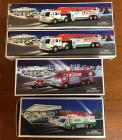 4 HESS trucks - fire related