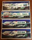 4 HESS trucks - race car related