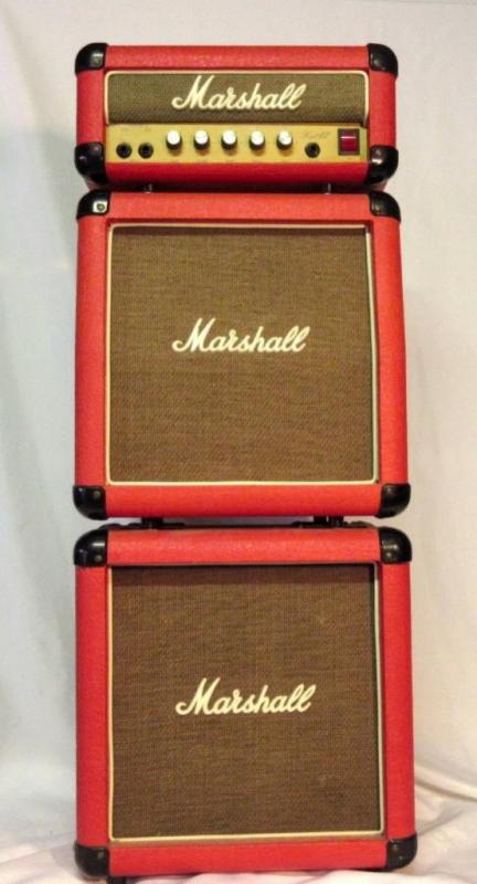 MARSHALL LEAD 12 MINI-STACK AMPLIFIER (RED) - Current price