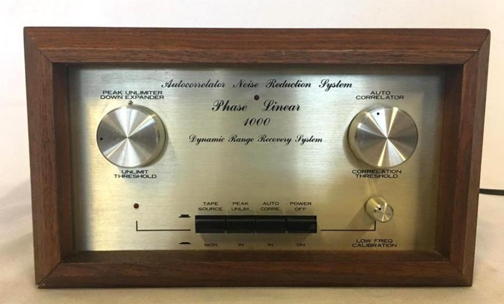 Phase Linear 1000 Autocorrelator Noise Reduction System