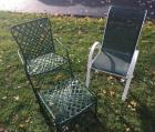 2 Patio Chairs & round stand