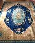 Chinese-style oriental rug - 9x12ft.