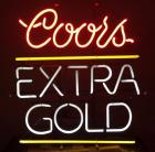 Colors Extra Gold neon beer sign