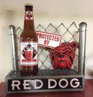 Red Dog beer advertising piece