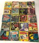 Group of vintage 8mm movies mostly Sci-Fi & Horror and Jolly Theatre Toy Movie Projector
