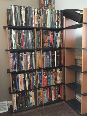 DVD and VHS Video Collection - over 150