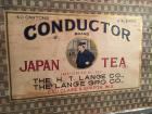 'Conductor' Japan Tea Box