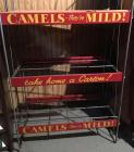 Camels Cigarette Wire Display Rack
