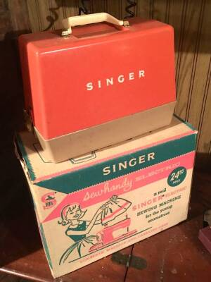 Group of Sewing Machines incl. childs Singer