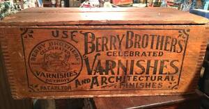 Berry Brothers Wood Varnish Box