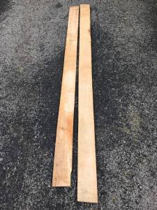 16 Linear Feet of Rough Cut Tiger Maple