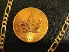 1984 Canadian Maple Leaf 1oz. $50 Gold Coin