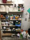 Contents of Storage Room Shelf - Cleaning Supplies
