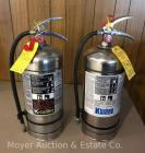 Pair of Commercial Kitchen Fire Extinguishers