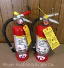 Pair of Badger Fire Extinguishers