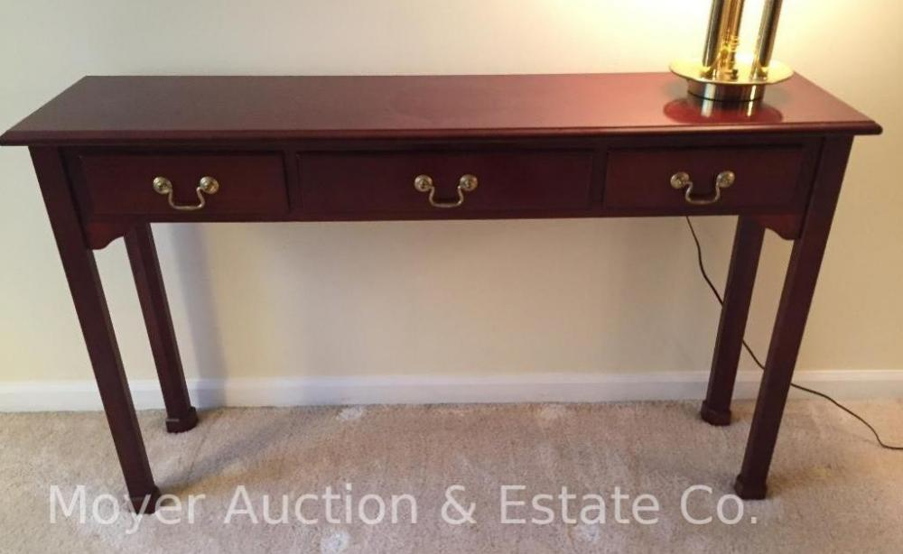 Excellent Bombay Co Mahogany Console Table Current Price 30 Lamtechconsult Wood Chair Design Ideas Lamtechconsultcom