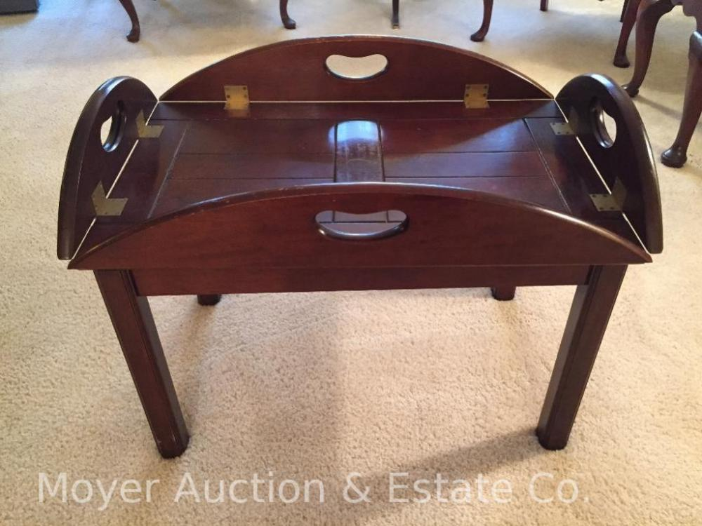 Ay Co Coffee Table With Fold Down Sides Cur Price