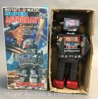 Vintage 'Rotate-O-Matic' Super Astronaut Tin Toy Robot