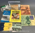 Group of Model Railroad Paper Material
