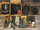 Large Group of Slot Car Track and Accessories