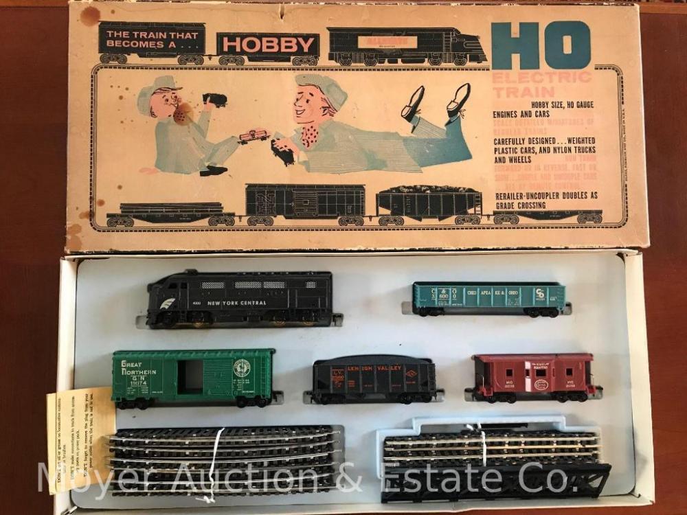 Allstate HO Train Set with Marx Transformer