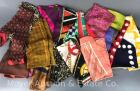 Group of 20+ Silk Scraves and Handkerchiefs