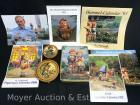 Group of Decorative Hummel Pieces and Calendars