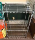 "Shelf Tech wire shelf, like-new, 18""deep x 24""wide, 36""tall"