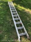 Werner 24' Aluminum Extension Ladder, type III, exc. condition